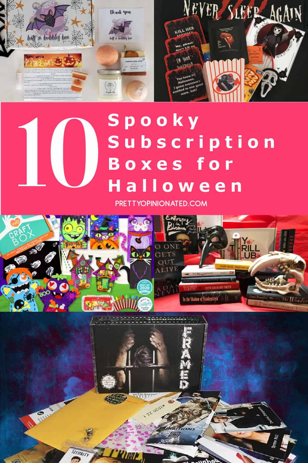 There's no better time to get your spooky on than right now. These Halloween subscription boxes are loaded with goodies that keep the fun going all year long. Check them out below!