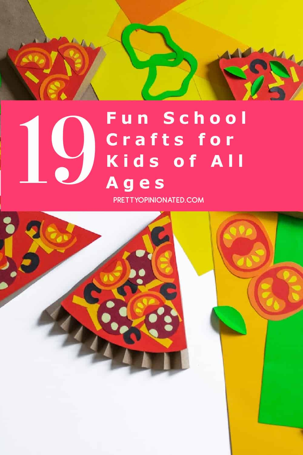 Reclaim that back-to-school feeling of excitement with these fun crafts! You can even save a few to do on the 100th day of school!