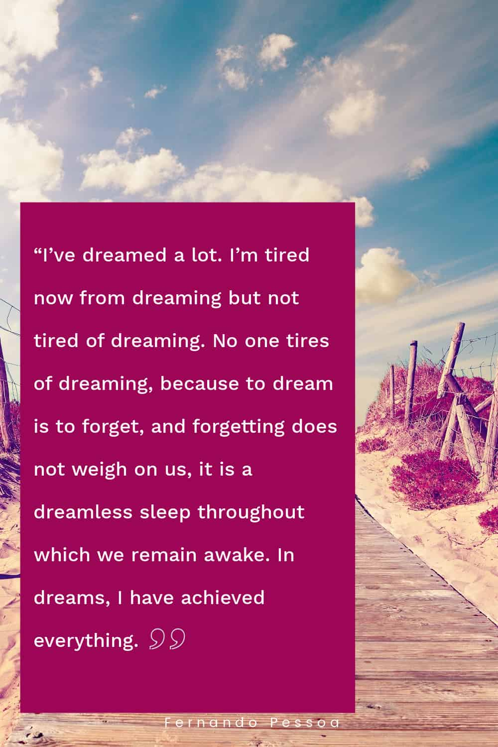 Quotes about dreaming